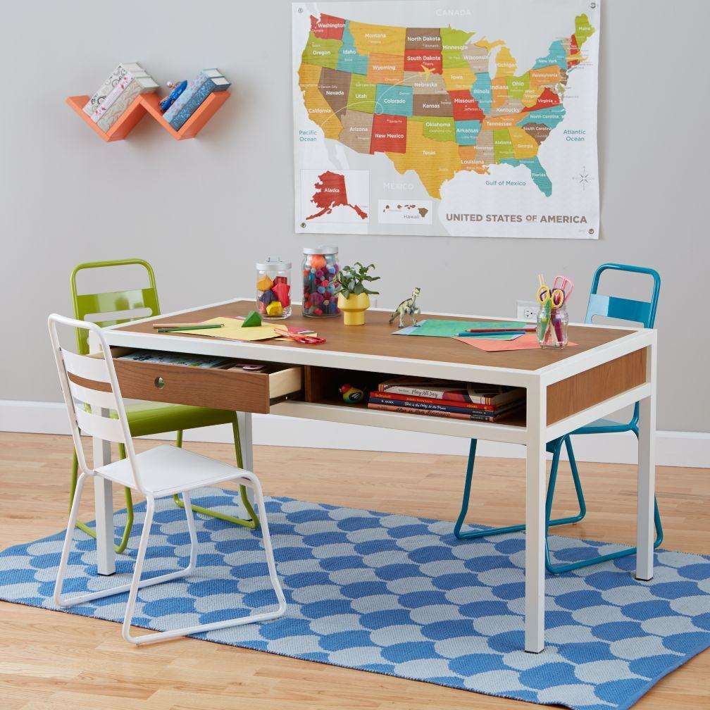 Shop Adjustable Hi Fi Modern Kids Play Table (Walnut). The Modern Design