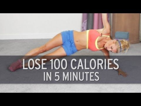 "Quick Calorie Burner  BURNS 100 CALORIES IN JUST 5 MINUTES!!! :D ... "" I lost 20 pounds (9kg) in 2 1/2 weeks by doing this 5 times a day!"" - someone you does this.  OH MY GOSH YES"