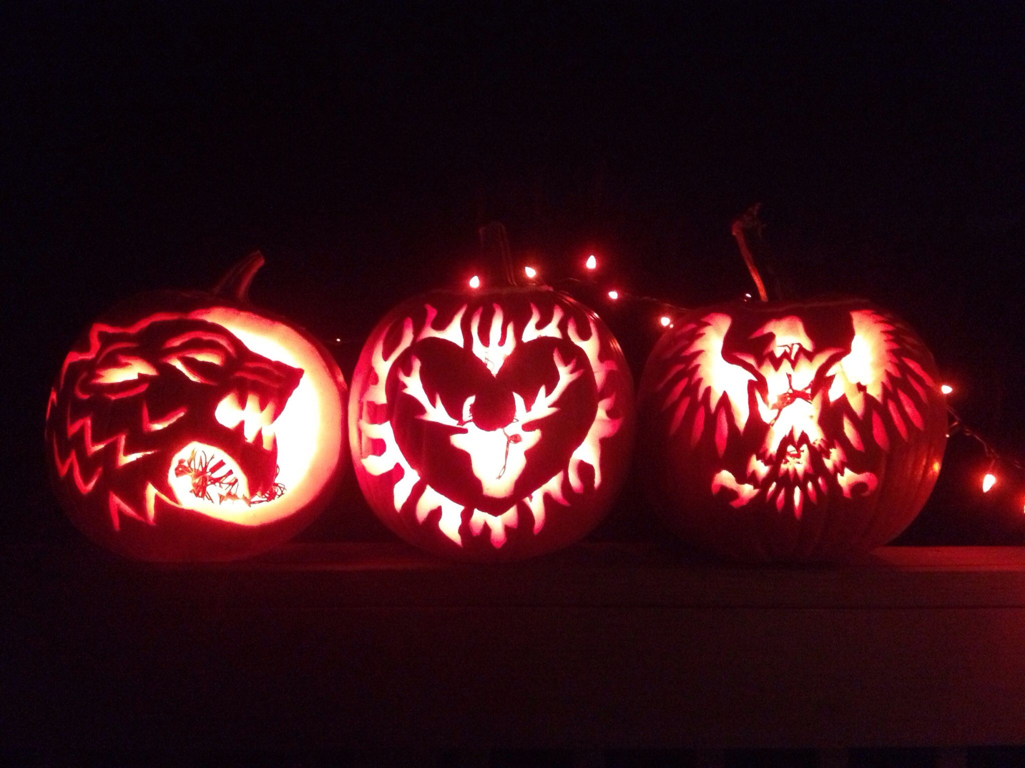 Game Of Thrones Pumpkin Carvings Pumpkin Carving