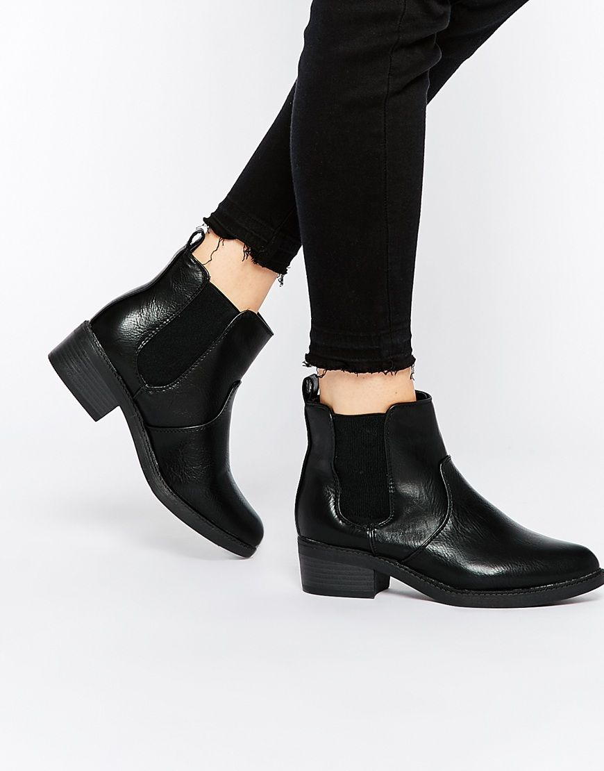 Buy Women Shoes / New Look Flat Chelsea Ankle Boot