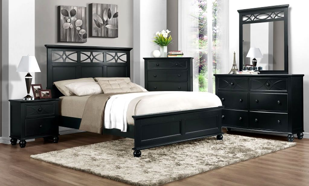 Best Wholesale Modern Bedroom Furniture Design Of Sanibel Black 400 x 300