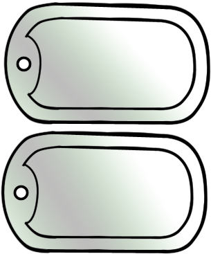 Army Dog Tag Craft Template For Kids Firefighter Crafts Military Vbs