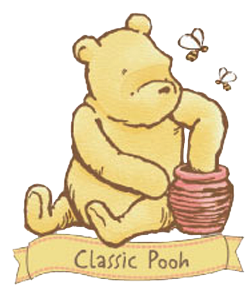 classic winnie the pooh clip art baby shower pinterest eeyore rh pinterest ie classic pooh clipart free Classic Winnie the Pooh Characters