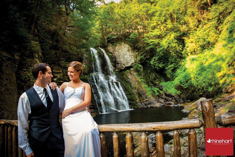 Bushkill Falls, Lehigh Valley, Poconos, Wedding venue ...