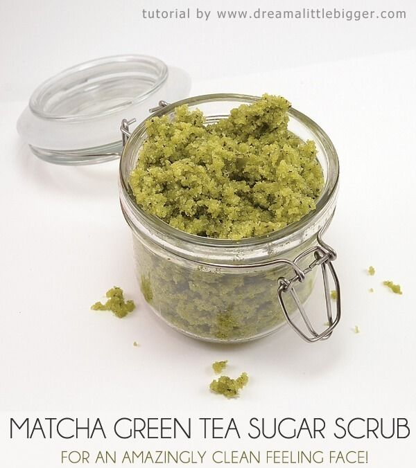 Photo of Matcha Green Tea Sugar Scrub