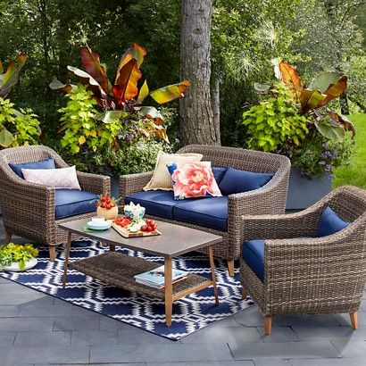 Outdoor Furniture Sets 21 Inexpensive Outdoor Furniture Sets For Summer Decorati Inexpensive Outdoor Furniture Blue Patio Furniture Patio Furniture Collection