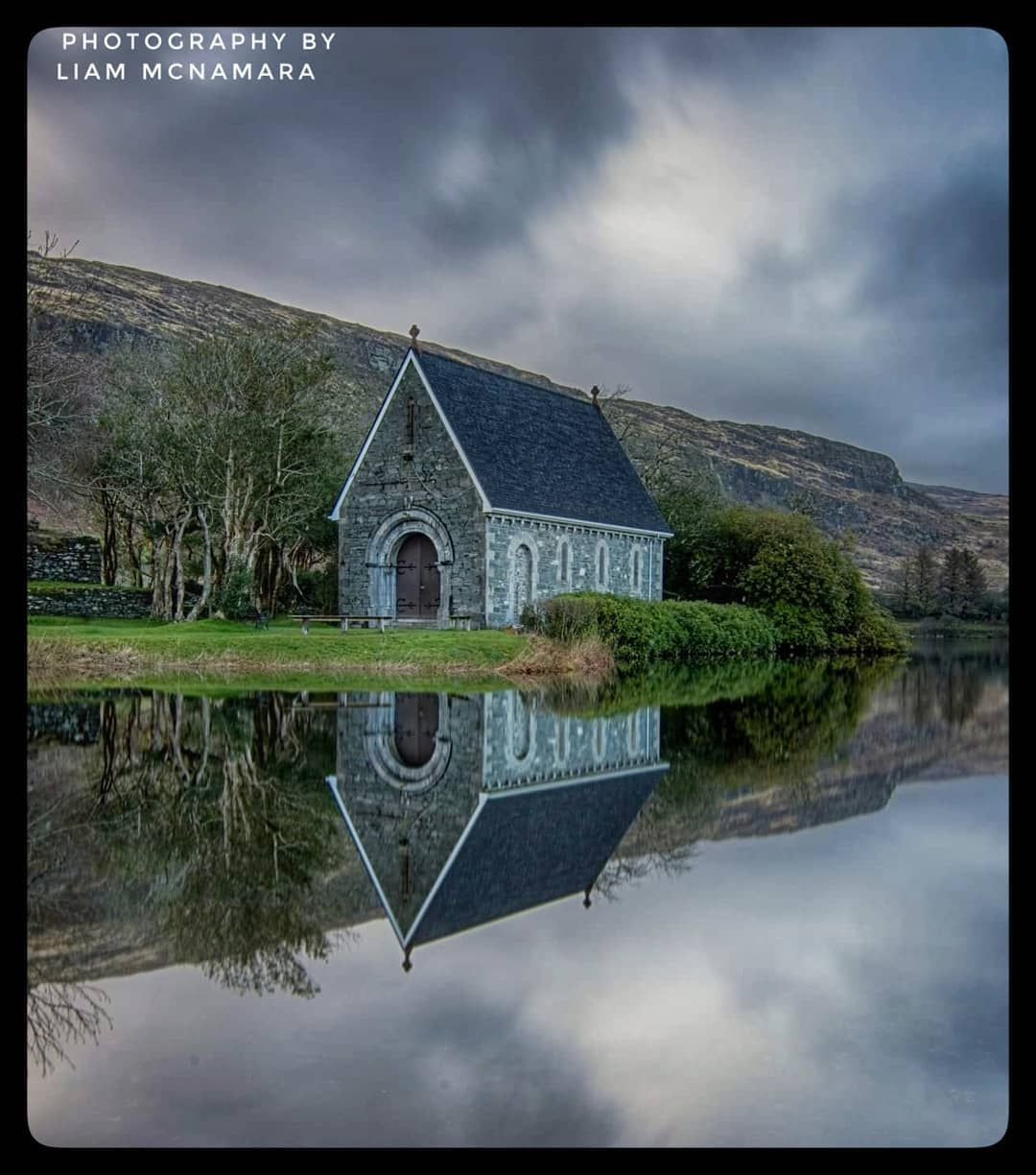 Morning Reflections At Gougane Barra In Co.Cork.