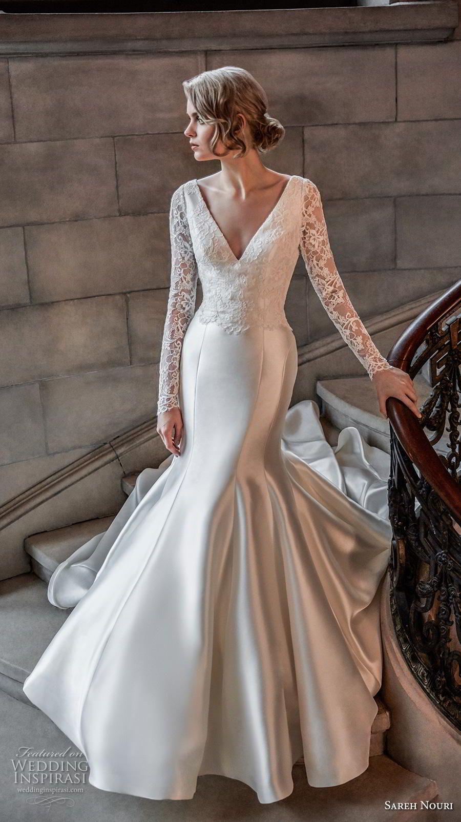 Sareh Nouri Spring 2020 Wedding Dresses The Royal Bridal Collection Wedding Inspirasi Ethereal Wedding Dress Sareh Nouri Wedding Dress Maxi Dress Wedding