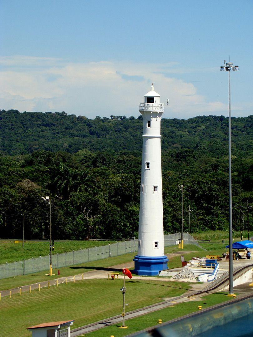 panama lighthouses | Lighthouse - Panama Canal — Fotopedia