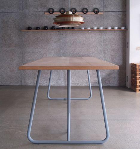 Uma By Kazunaga Sakashita Trestle Table