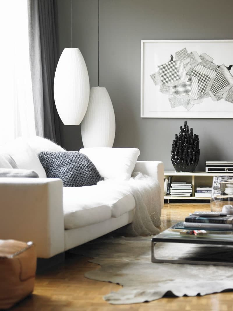 wandfarben f r kleine r ume bauen und wohnen pinterest wirken raum und gelassenheit. Black Bedroom Furniture Sets. Home Design Ideas