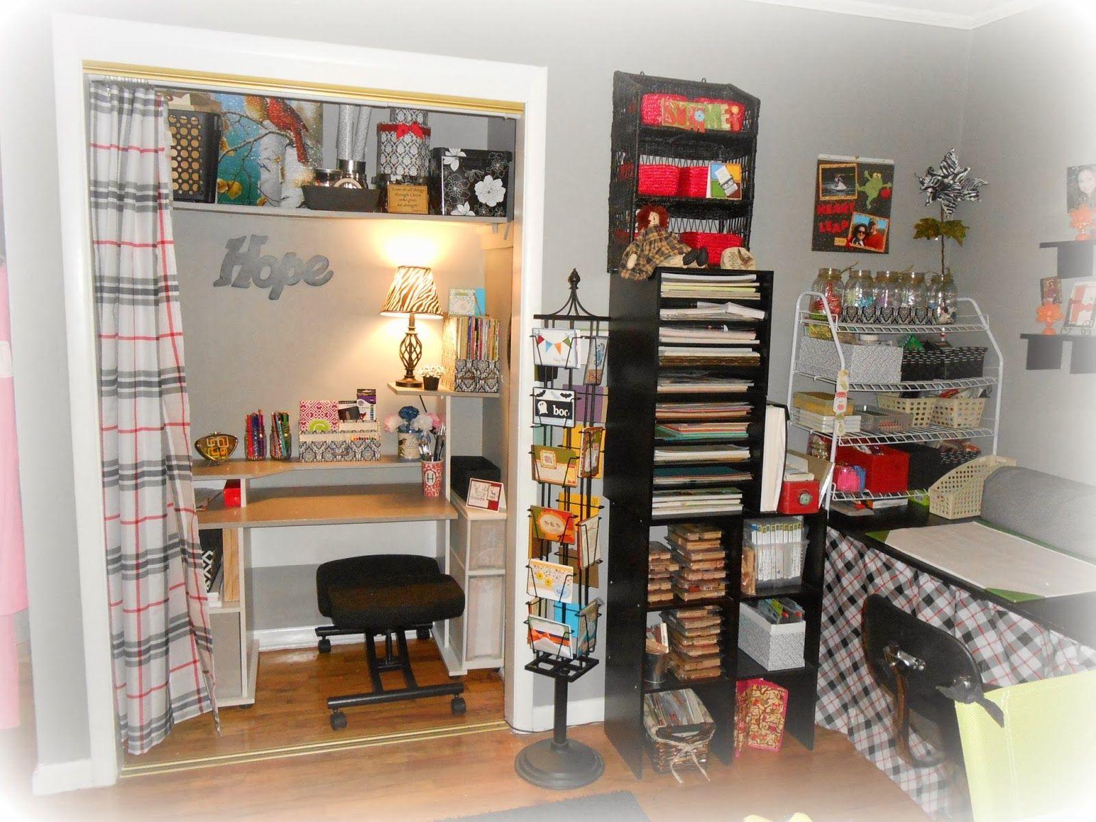 Cathy S Craft Corner My New Craft Sewing Room Craft Corner