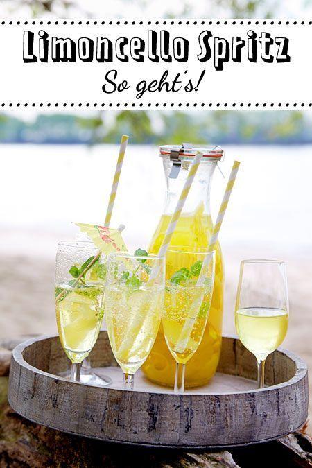 Limoncello Spritz Rezept | LECKER