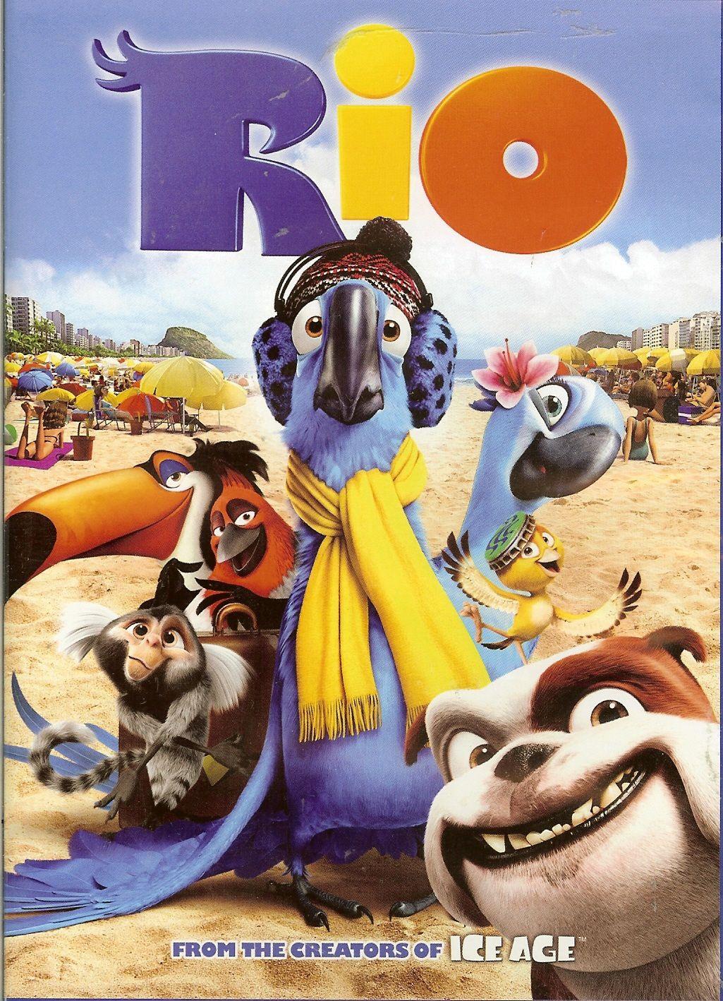 Rio 2011 Filmes De Animacao Filmes Infantis Posters De Filmes