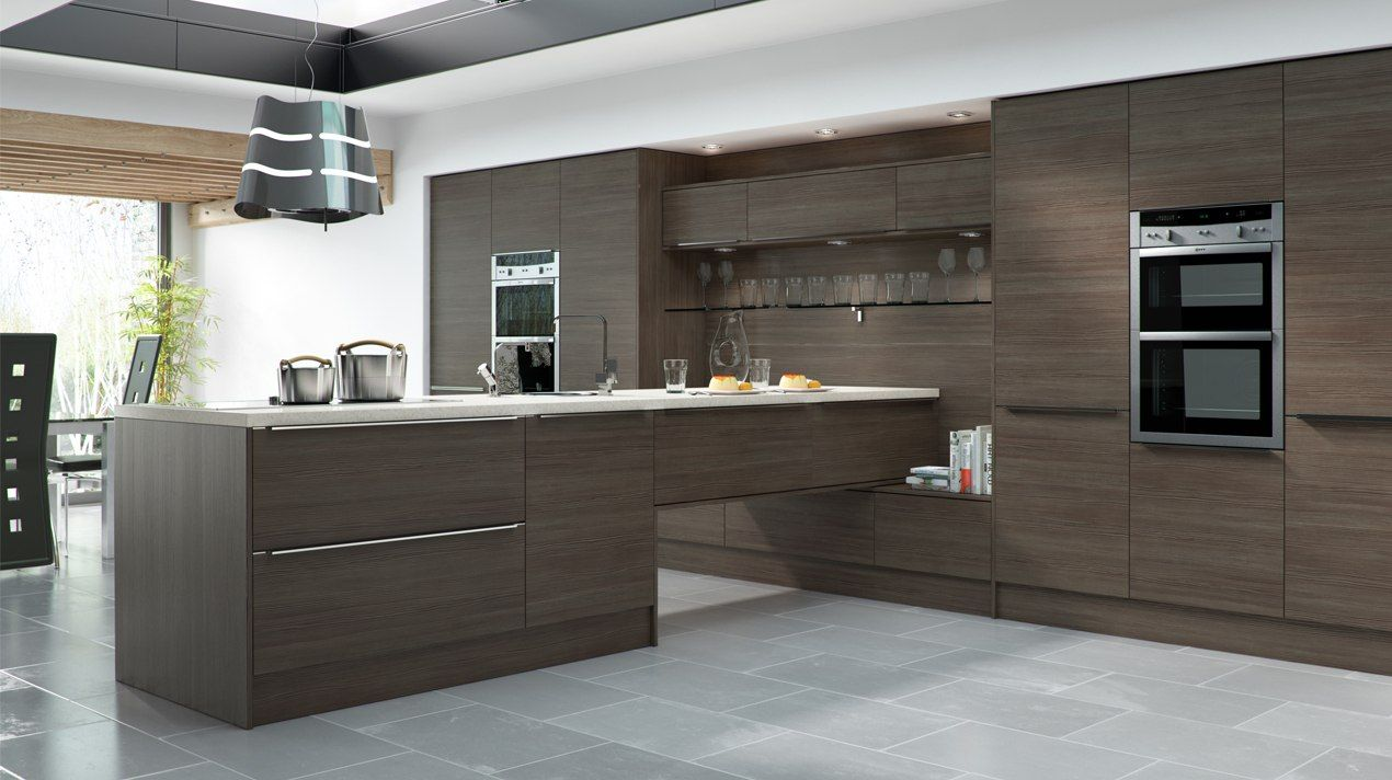 Brown Kitchens Gallery Contemporary Kitchen Design Kitchen Fittings Modern Kitchen