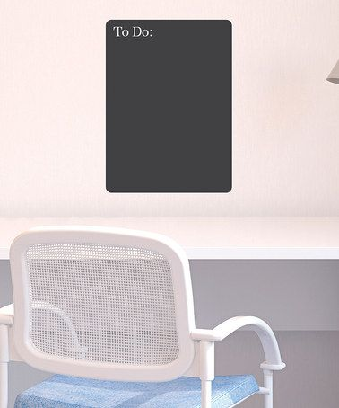 Take a look at this Chalkboard 'To-Do' List Wall Decal by Wallquotes.com by Belvedere Designs on #zulily today!