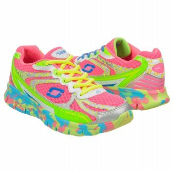 Athletics Skechers Women's MARBLE RUNNER Pink Multi FamousFootwear.com