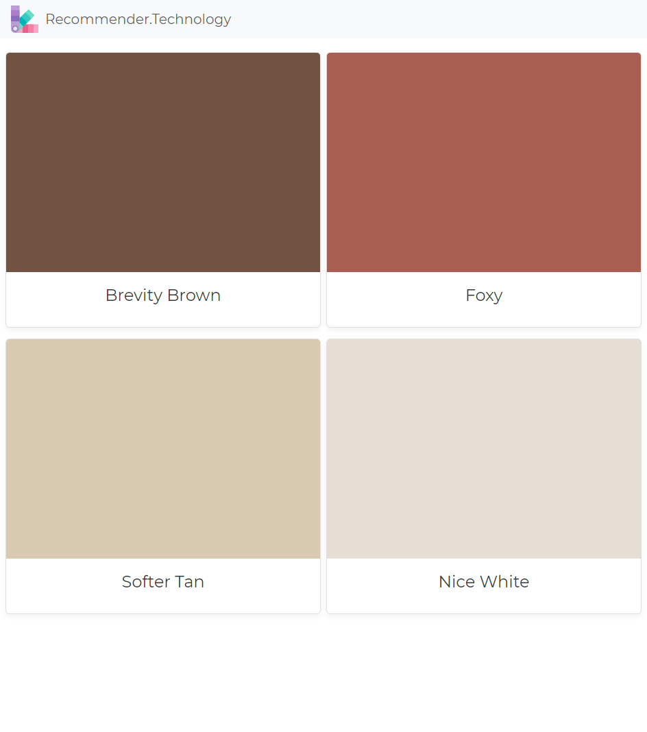 Brevity Brown Foxy Softer Tan Nice White In 2019