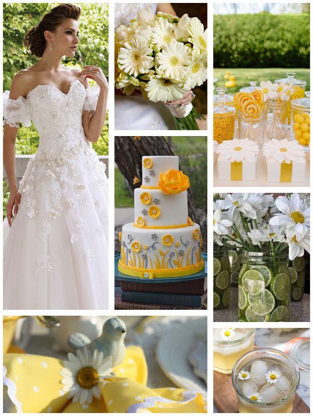 Daisy Themed Wedding By Mon Cheri We  E  A This Moncheribridals Com