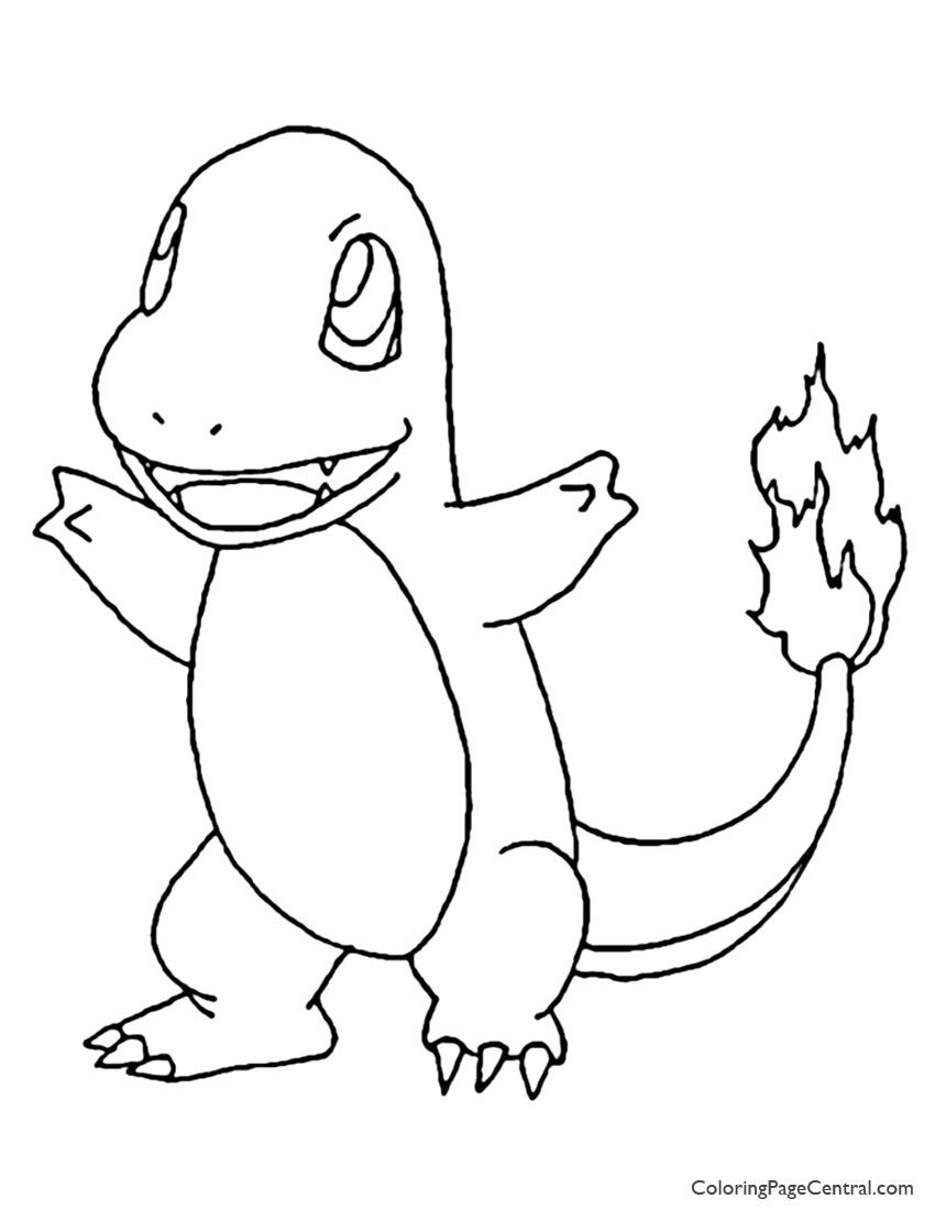 Charmander Pokemon Coloring Page Youngandtae Com Pokemon Coloring Pages Coloring Pages Puppy Coloring Pages