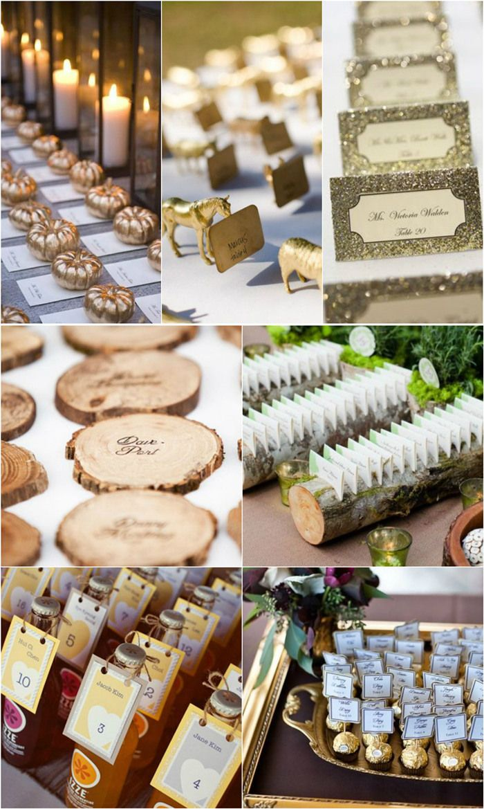 Top 25 Creative Wedding Escort Card Ideas