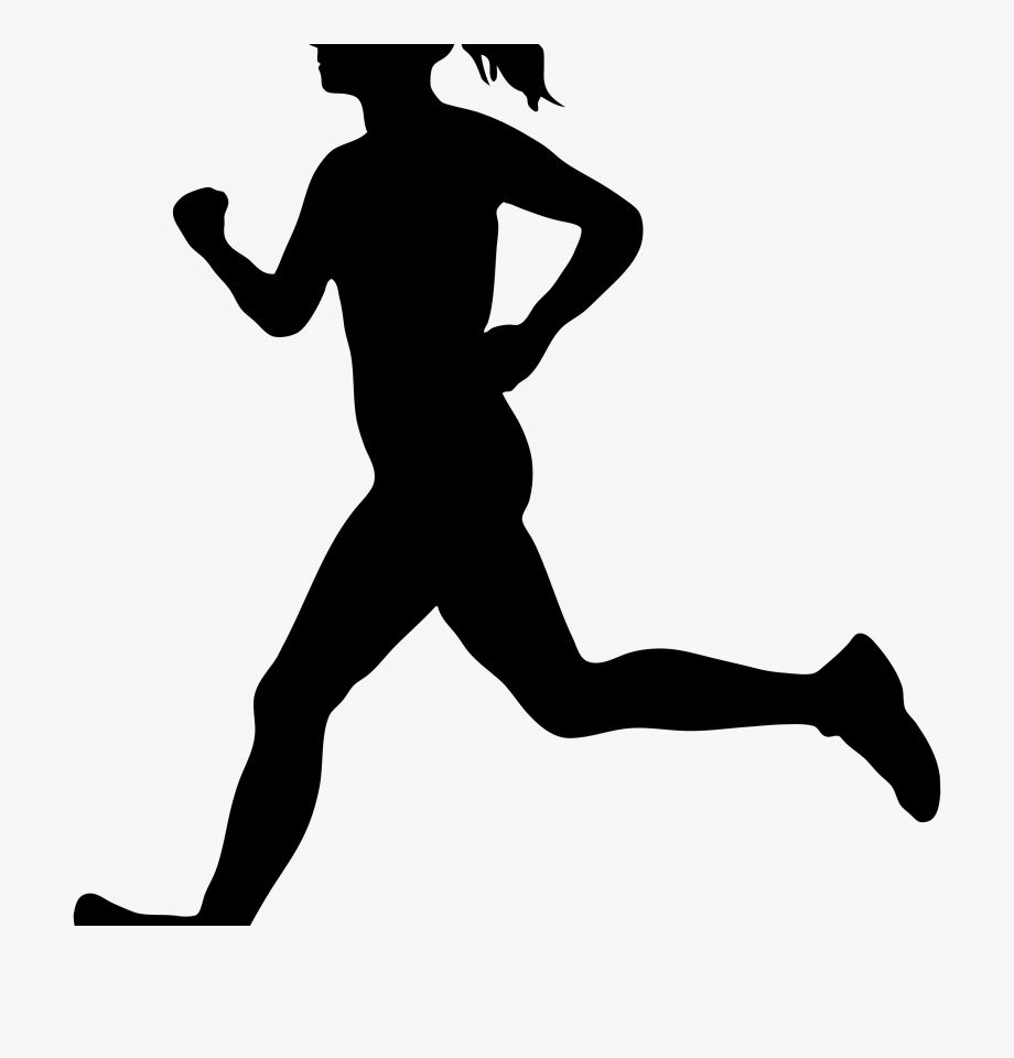 Running Clipart Black And White Free In 2021 Running Clipart Clipart Black And White Clip Art