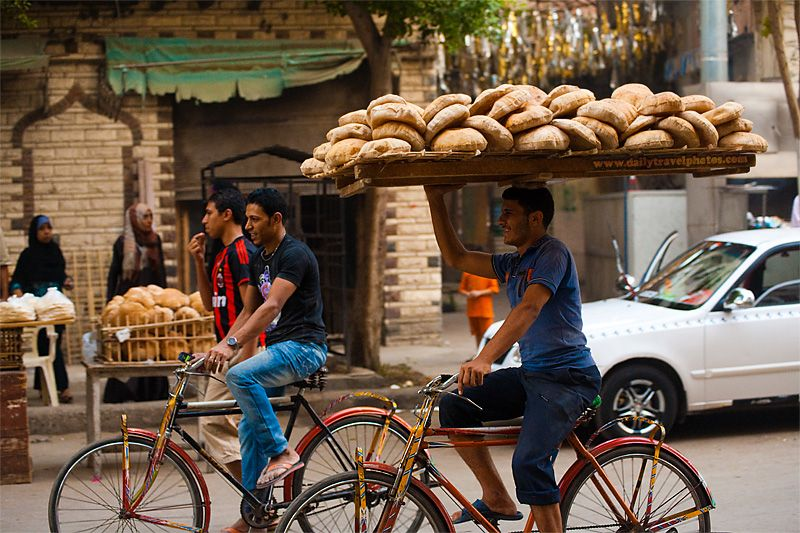 Bread Delivery In Cairo Egypt Mom Imagine This Job