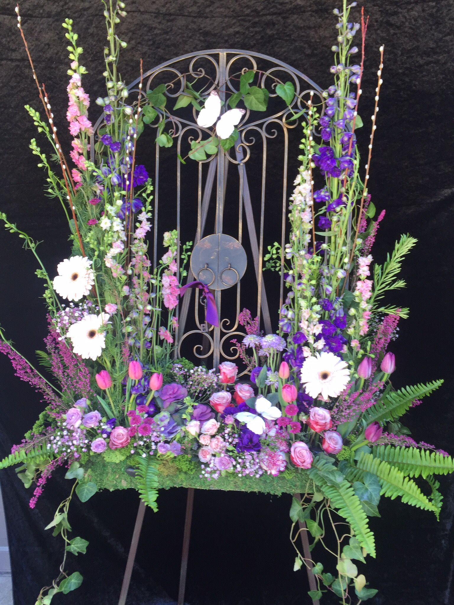 Pin by special occasions by vicki on funeral flowers and sympathy funeral tributes funeral flowers izmirmasajfo