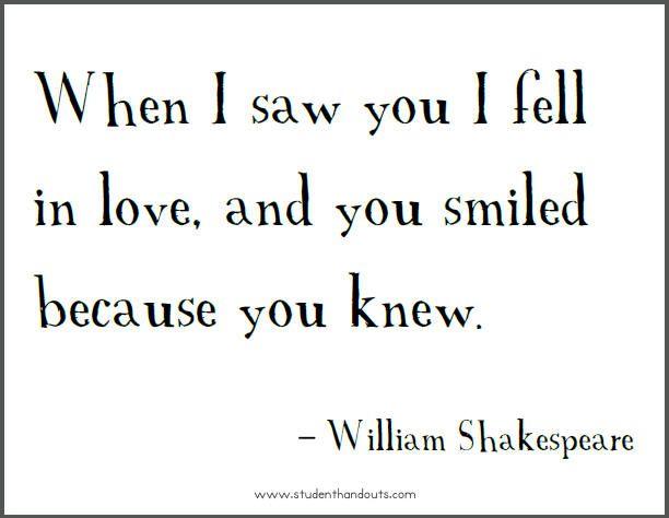 William Shakespeare Quotes Shakespeare Love Quotes Quotes