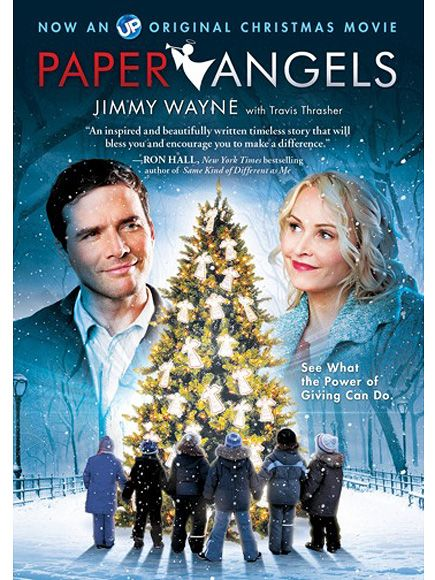 The Movie Tie In Version For Paper Angels Love That They Actually Made A Film Based On One Of My Stories Uptv Is The Chan Christmas Movies Angel Movie Movies