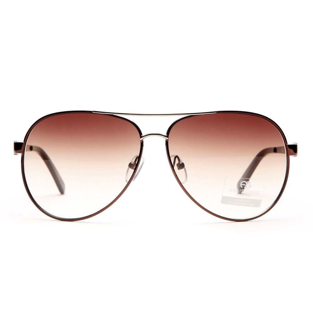Aviator sunglasses for women - Women S Classic Aviator Sunglasses W Logo Accent On Side Coffee