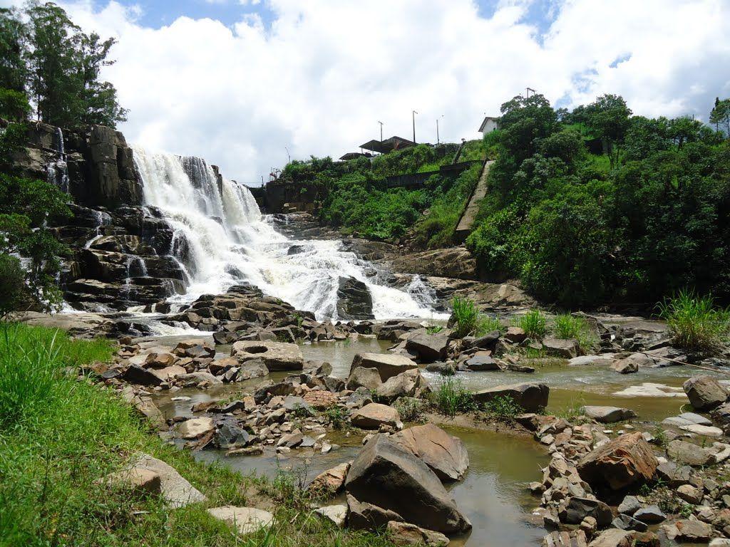Doutor Pedrinho é outro lugar de Santa Catarina que tem cachoeiras fantásticas. #doutorpedrinho #sc #brasil