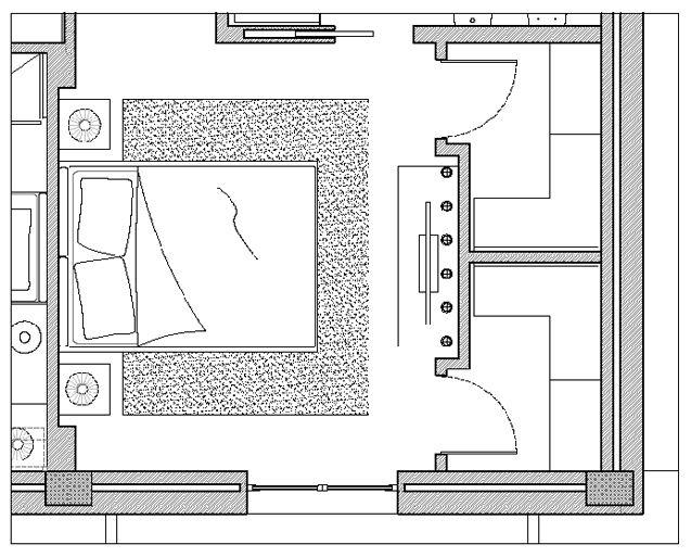 Progetto cabina armadio cerca con google cabina - Progetti cabine armadio ...