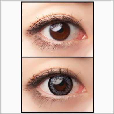 cosmetic color contact lenses for dark eyes #circlelens SHOP >> http://www.eyecandys.com/angel-series-14-0mm/