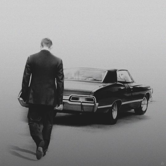 Dean + impala. SourceForge: Tumbler. Possibly framed (chrome).