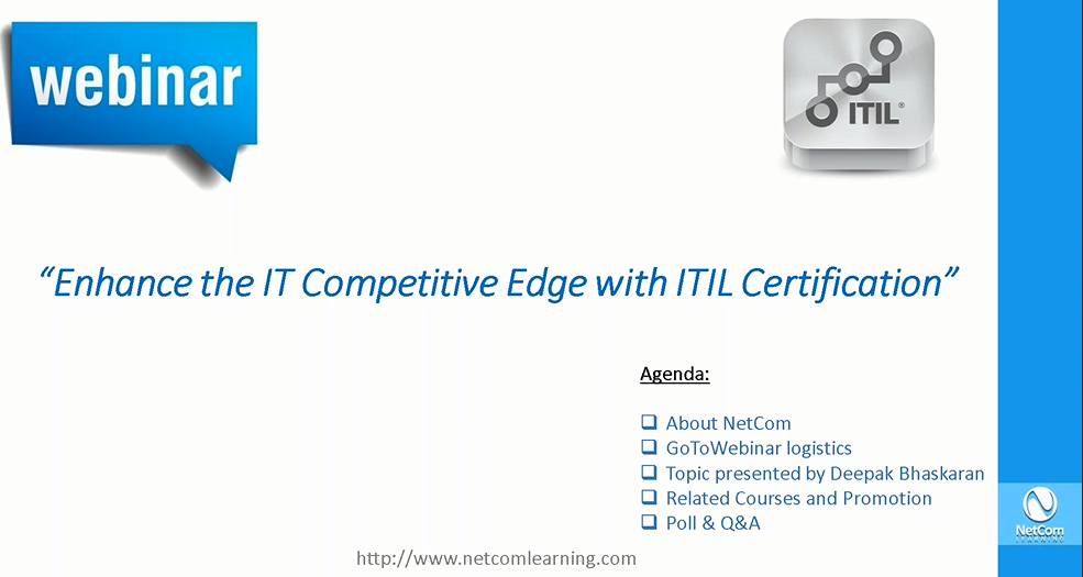 Enhance the Competitive Edge with ITIL Certification - Information ...
