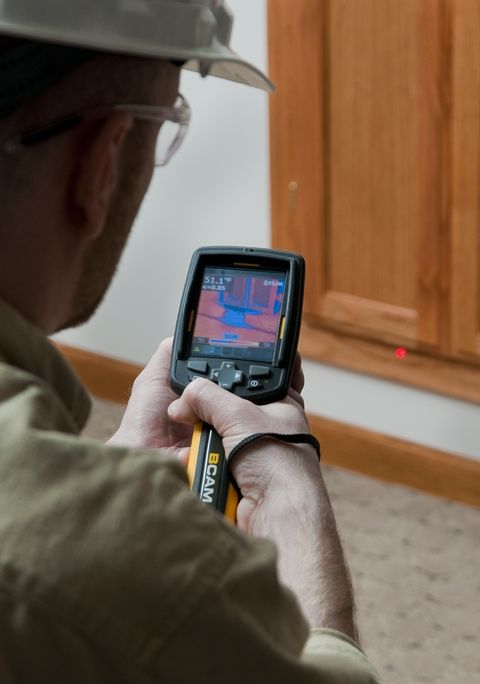Matt Knows That » Thermal Infrared Photography in Energy Audits