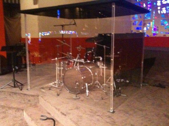 Enclosed Drum Cages Google Search Estudios De Musica Aislamiento Acustico Bateria