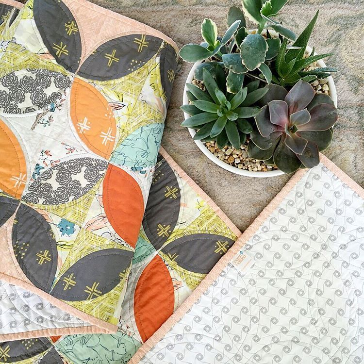 """213 Likes, 24 Comments - Sharon Holland (@sharonhollanddesigns) on Instagram: """"Thinking about updating your home for fall??? Make an Orange Peel table runner in fall colors for…"""""""
