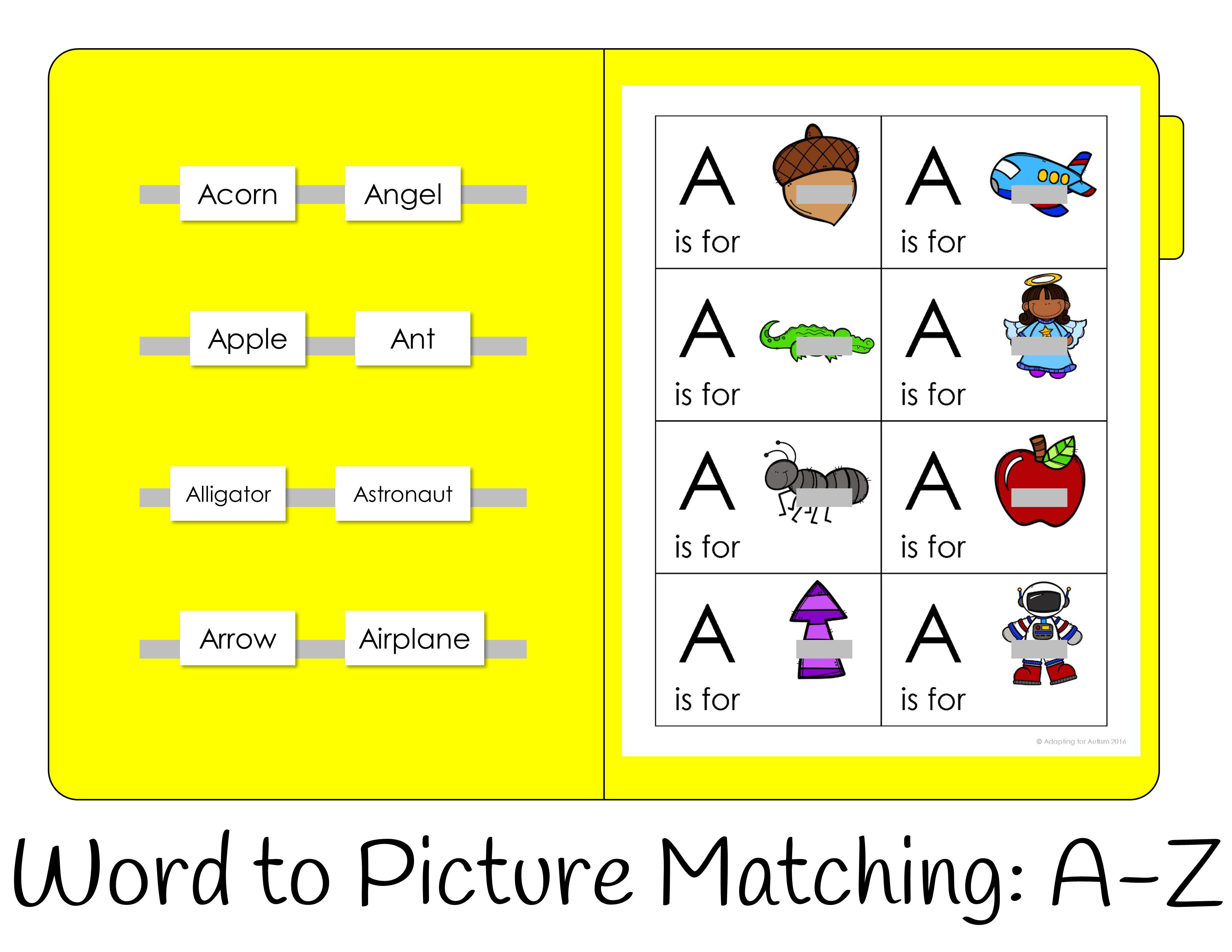 Alphabet File Folders Interactive Beginning Sound Activities
