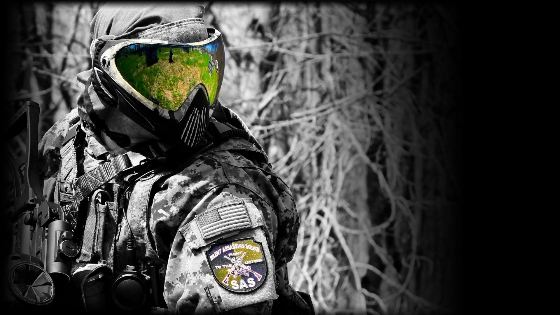 Silent Assassin Squad S A S Woodsball For U All Woodsball Paintball Battlefield Hardline