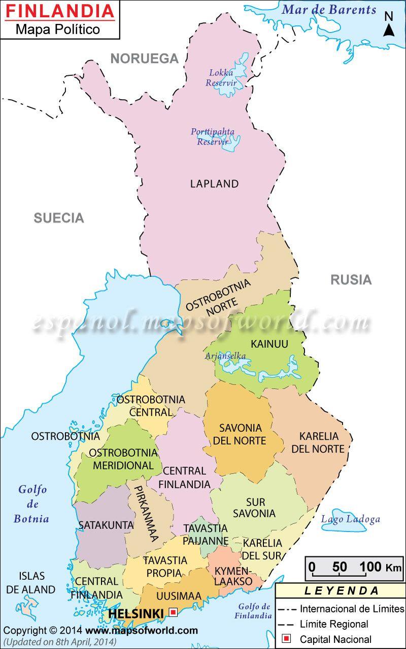 finlandia mapa Finlandia Mapa , Mapa Finlandia | Finlandia | Pinterest | Finland  finlandia mapa