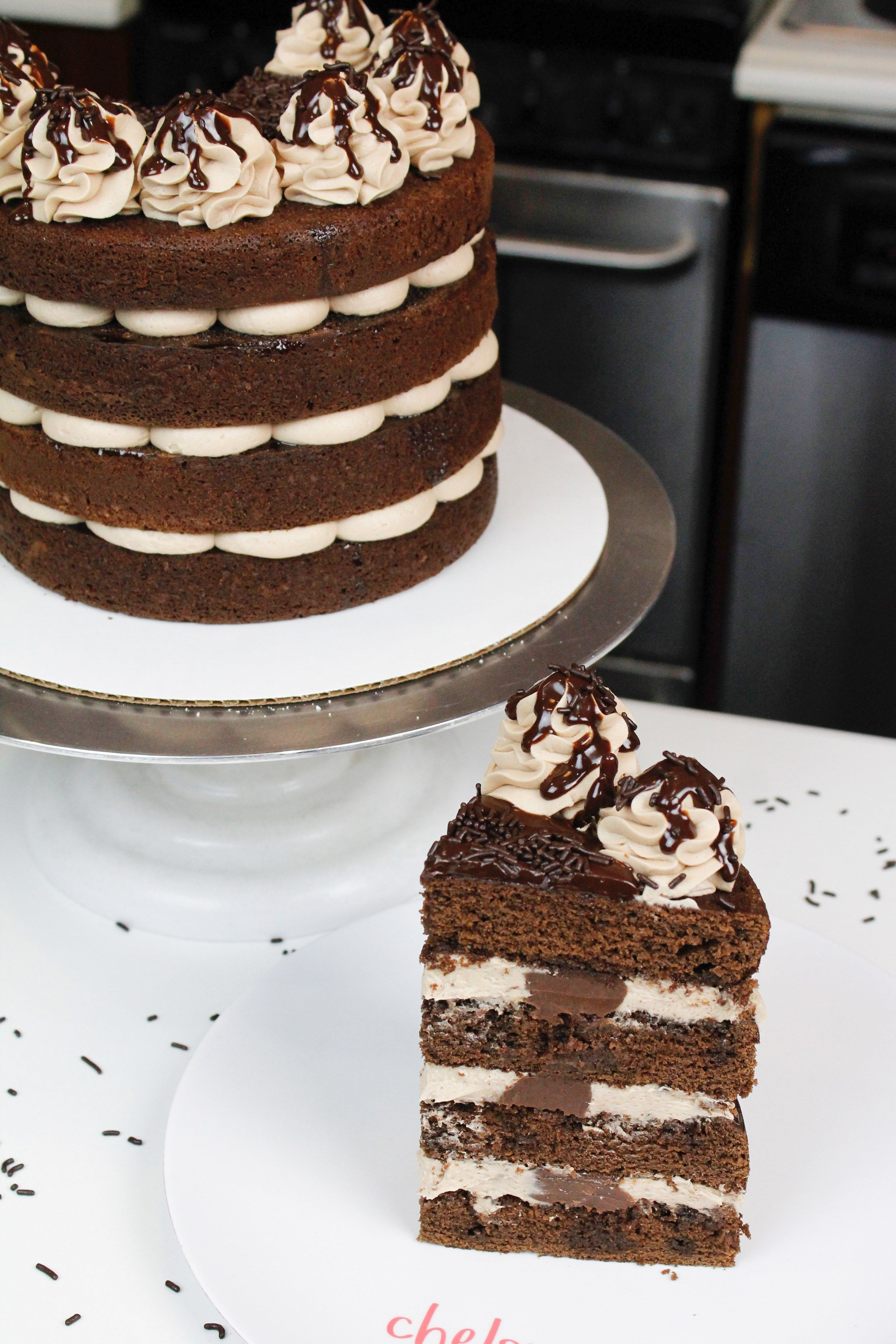 Pin on Naked cake