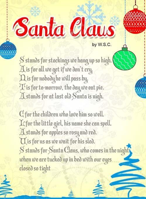 christmas story verses in order