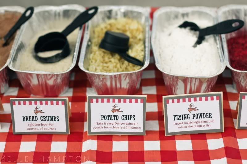 Marvelous School Christmas Party Food Ideas Part - 7: Reindeer Food Bar-- Oats And Raisins, Bread Crumbs And Cocoa.