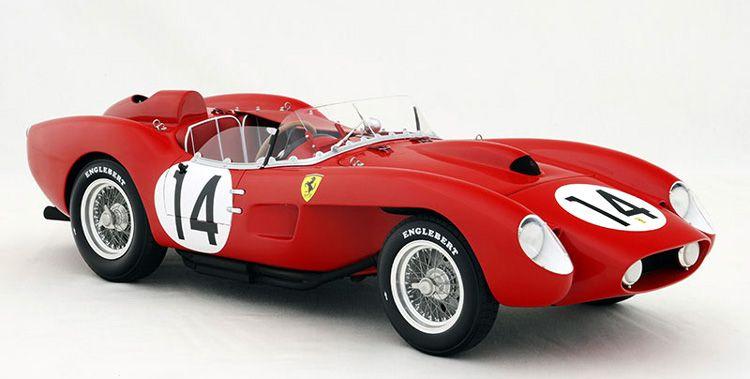Ferrari 250 Testa Rossa 1958 Sebring Winner Scale Model Legacy Motors Modellauto Ferrari Bentley