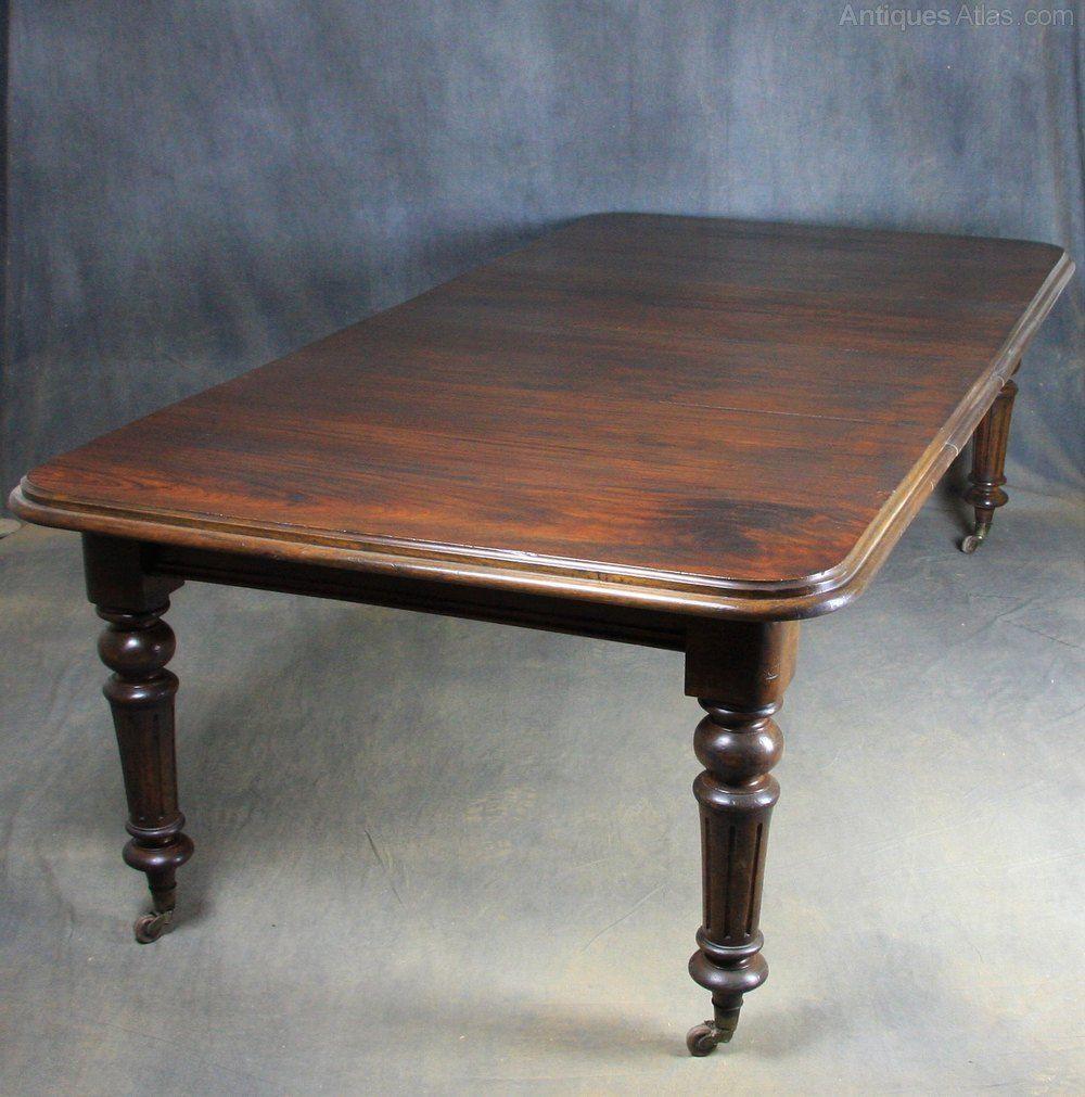 Victorian Mahogany Dining Table Antiques Atlas Mahogany Dining