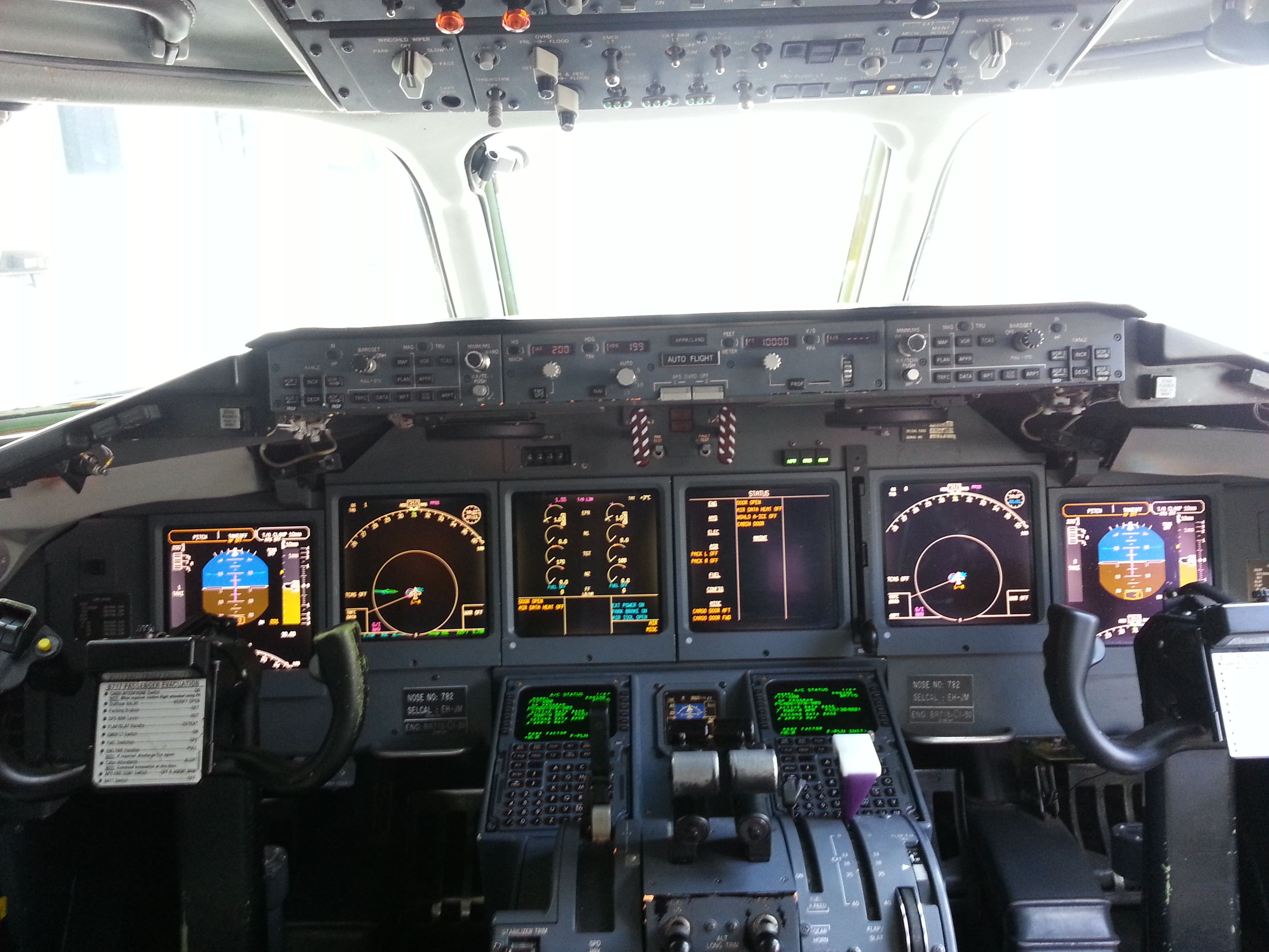 Boeing 717 Cockpit Born 2 Fly Airplane Aviation