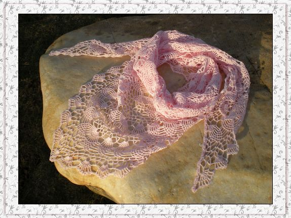 Abacaxi pequeno xale - Shu Shu congelamento - congelamento blog de Shushu