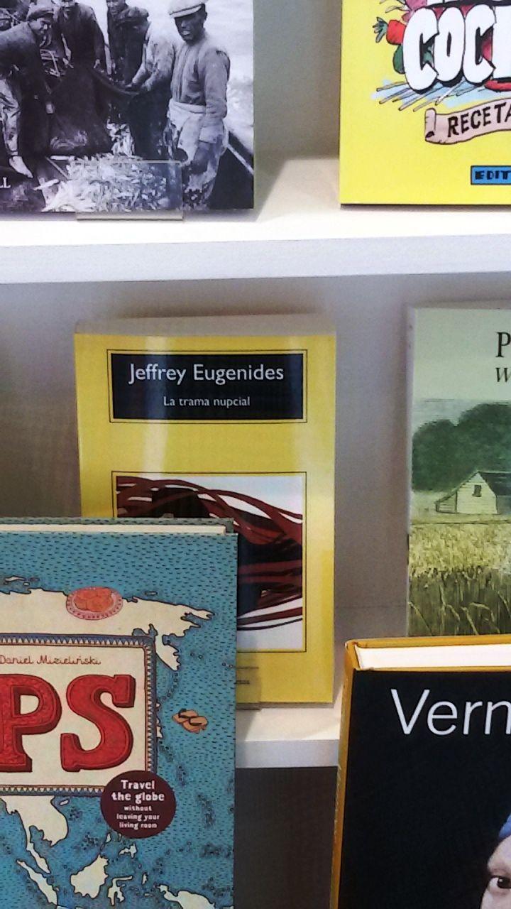 """""""La trama nupcial"""" de Jeffrey Eugenides. Anagrama"""